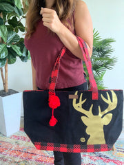 Canvas Totes by Simply Southern - Deer