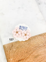 $5 Final Sale Jewelry Blowout! - Blush Floral Studs
