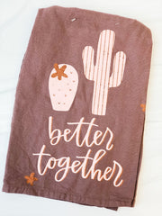 'Better Together' Kitchen Towel by PBK