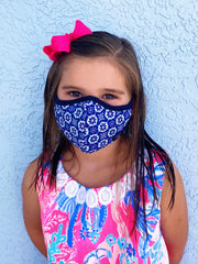 Petite/Youth Face Covering by Simply Southern - Mandala
