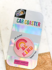 'Be Kind' Car Coaster by Simply Southern