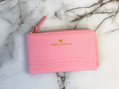 Solid Clutch by Simply Southern - Pink