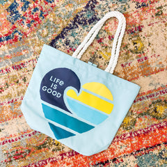 Wave Heart Beach Bag by Life Is Good