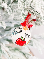 'Teach Love Inspire' Ornament