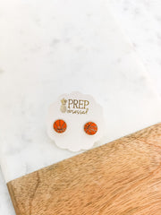 Basketball Signature Enamel Studs by Prep Obsessed