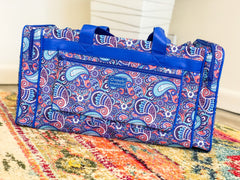 Paisley Print Duffle Bag by Simply Southern