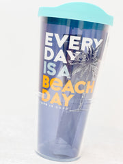 Life Is Good 'Every Day Is a Beach Day' 24 oz Double Wall Tumbler by Tervis (Ships in 2-3 Weeks)