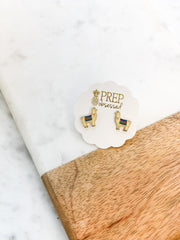 Llama Signature Enamel Studs by Prep Obsessed