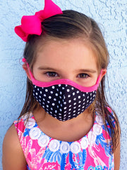 Petite/Youth Face Covering by Simply Southern - Polka Dots
