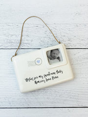 Sweet Note Ornament by Mud Pie - Baby Boy or Girl