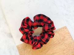 Buffalo Check Hair Scrunchie - Choice of Color