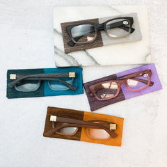 Wood Grain Readers - Choice of Color