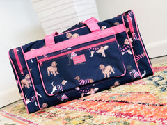 Dog Print Duffle Bag by Simply Southern