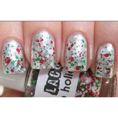 Polka Dot Nail Polish - Christmas Dots