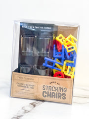 Stacking Chairs Drinking Game