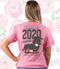 'Class of 2020' Short Sleeve Shirt by Simply Southern