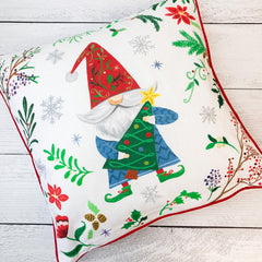 Gnome Christmas Pillow