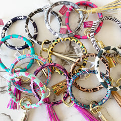 Bangle Keyring by Simply Southern - Choice of Design