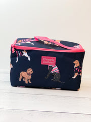 Dog Print Makeup Bag by Simply Southern