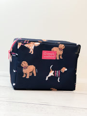 Dog Print Cosmetic Bag by Simply Southern