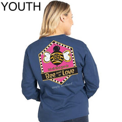 Youth 'Let All You Do Bee Done In Love' Long Sleeve Tee by Simply Southern