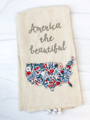 'America the Beautiful' Kitchen Towel by PBK