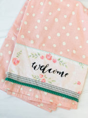 Welcome' Kitchen Towel by PBK