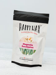 Happy Wax Soy Melts - Magnolia Eucalyptus