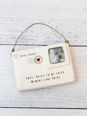 Sweet Note Ornament by Mud Pie - Parent