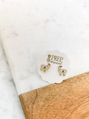 Christmas Tree Llama Signature Enamel Studs