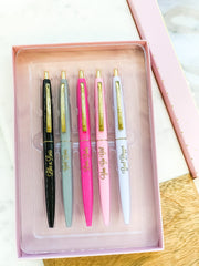 Boss Babe Pen Set - Set of 5