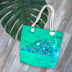 'Virginia' Canvas Tote by Simply Southern