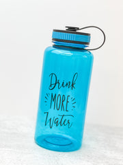 'Drink More Water' Water Bottle