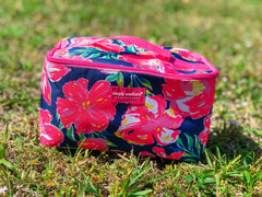Hibiscus Makeup Bag by Simply Southern