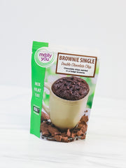 Double Chocolate Chip Brownie In a Mug