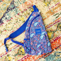Paisley Print Sling Bag by Simply Southern
