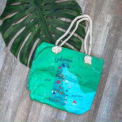 'Delaware' Canvas Tote by Simply Southern