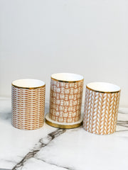 Rattan Weave Scented Candle - Choice of Scent