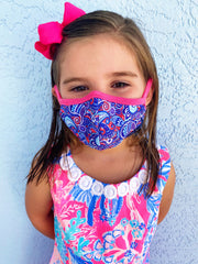 Petite/Youth Face Covering by Simply Southern - Paisley