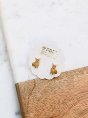 Signature Pet Enamel Studs by Prep Obsessed - Corgi