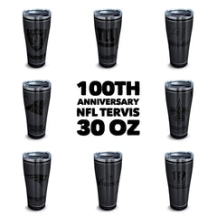 NFL 100th Anniversary Stainless 30 oz Tumbler by Tervis - All Teams Available (3-4 Week Production Time)