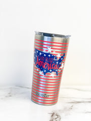 Coton Colors 'God Bless America' Stainless Steel 20 oz Double Wall Tumbler by Tervis