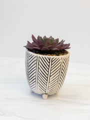 Herringbone Planter by PBK