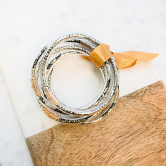 Reese Bangle Stack - Snake