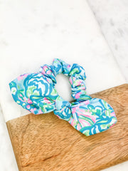 Hair Scrunchie by Lilly Pulitzer - Aqua La Vista