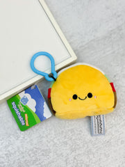 Micro Comfort Food Taco Squishable Keychain