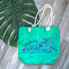 'Kentucky' Canvas Tote by Simply Southern
