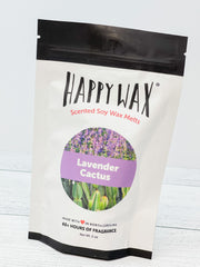 Happy Wax Soy Melts - Lavender Cactus
