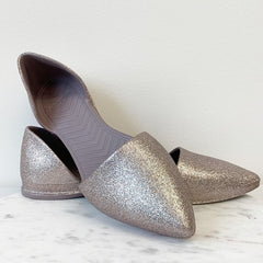 Audrey Bling Point Flat by Native - Metal