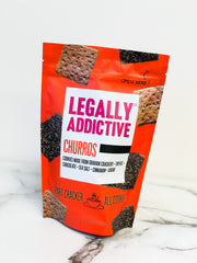 Churros Cookie Cracker by Legally Addictive